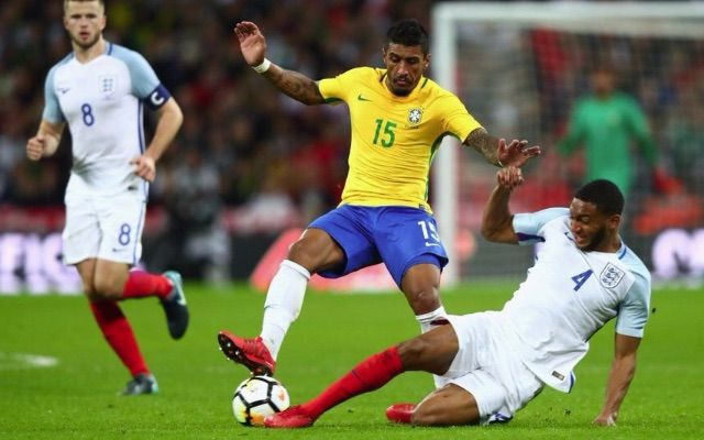 Joe-Gomez-tackles-Paulinho-during-England-0-0-Brazil-640x400