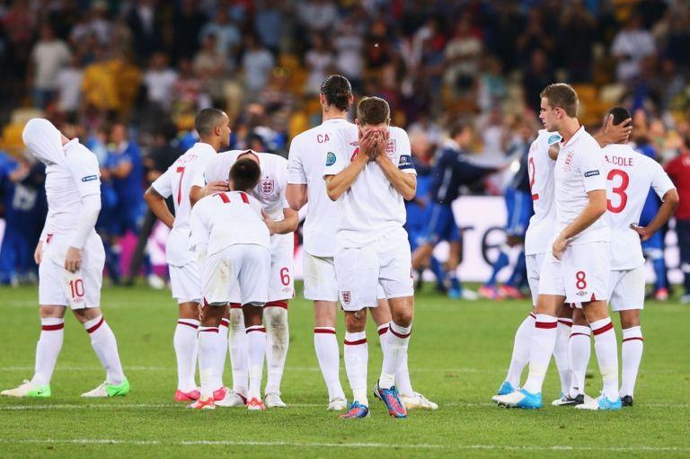 Euro 2012 failure